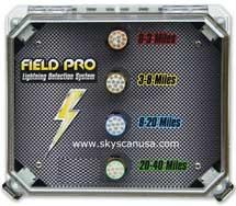 fieldpro lightning detector